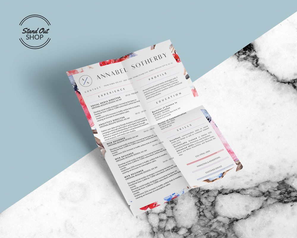 100 stand out resume templates amazing idea effective