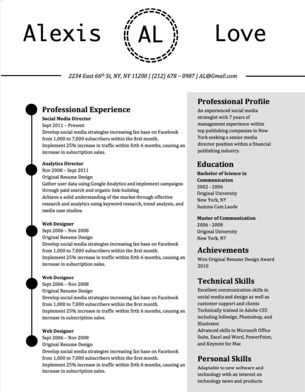 10 best resume templates for teachers of 2018