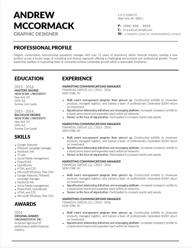 Professional Resume Template 2018.10 Best Resume Templates For Teachers Of 2018 Stand Out Shop