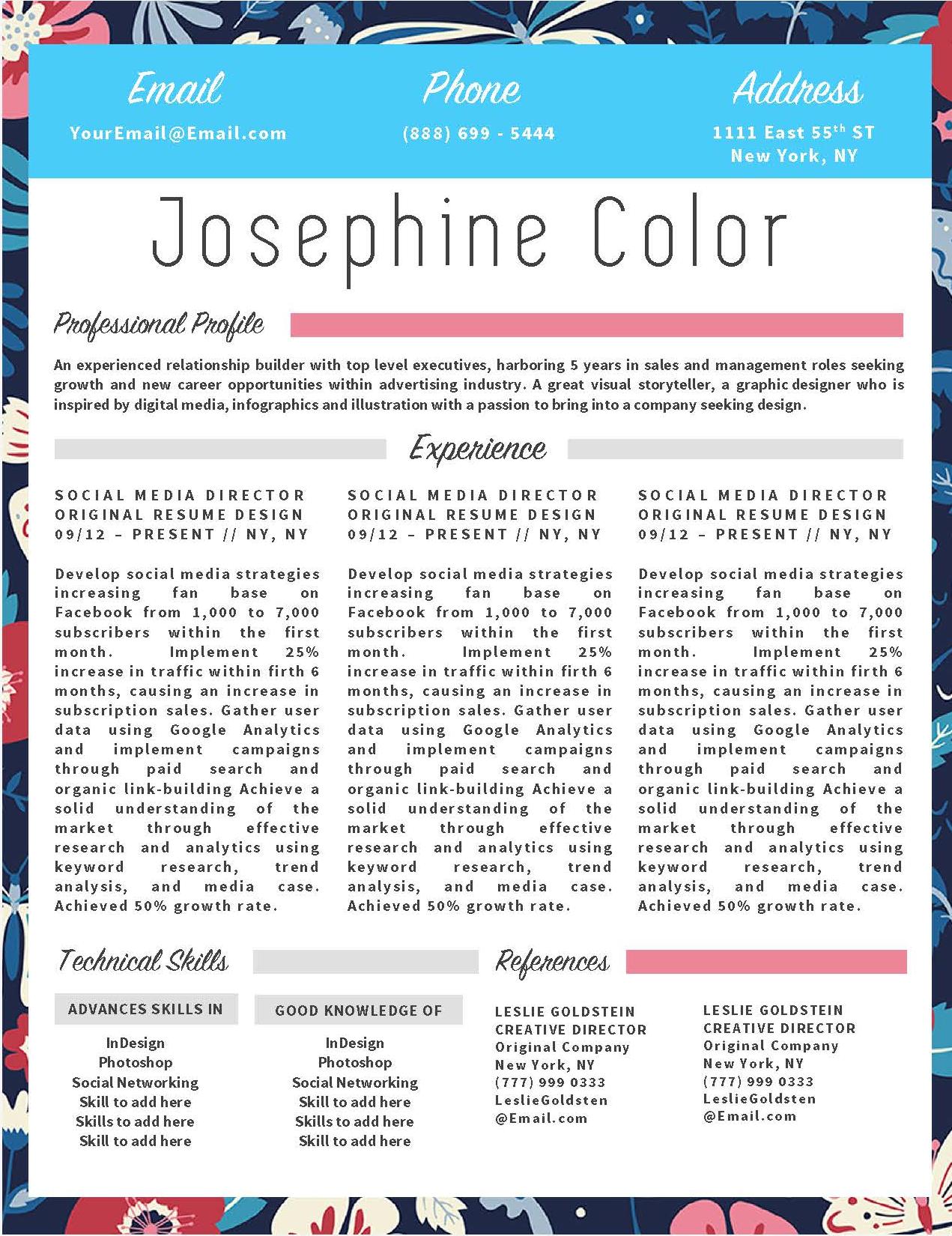job winning resume templates for microsoft word  u0026 apple pages
