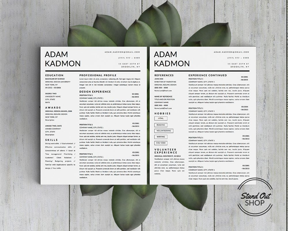 Job Winning Business Resume Templates To Help You Stand Out