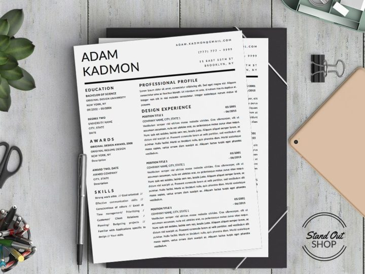 5 Job Winning Business Resume Templates to Help You Stand Out