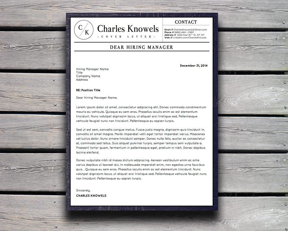Charles knowels resume 5 pack for ms word and apple pages stand downloadable resume template and cover letter template for microsoft word and apple pages spiritdancerdesigns