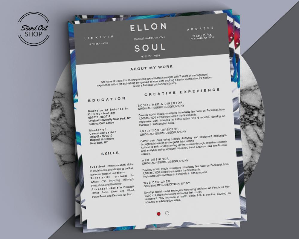 Ellon Soul Marble Cover