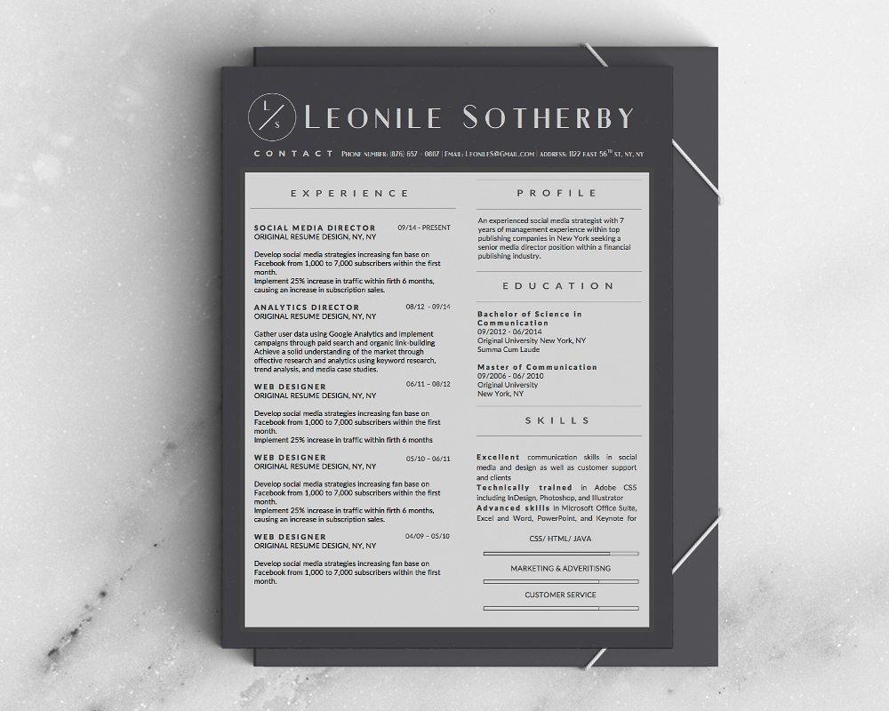 entrepreneur resume designs bundle - 5 templates