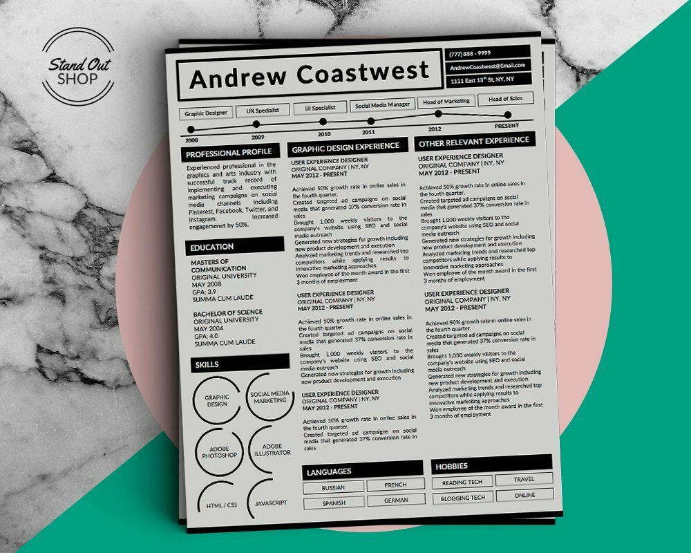 Andrew Coastwest-5 FREE MICROSOFT WORD CV RESUME TEMPLATES