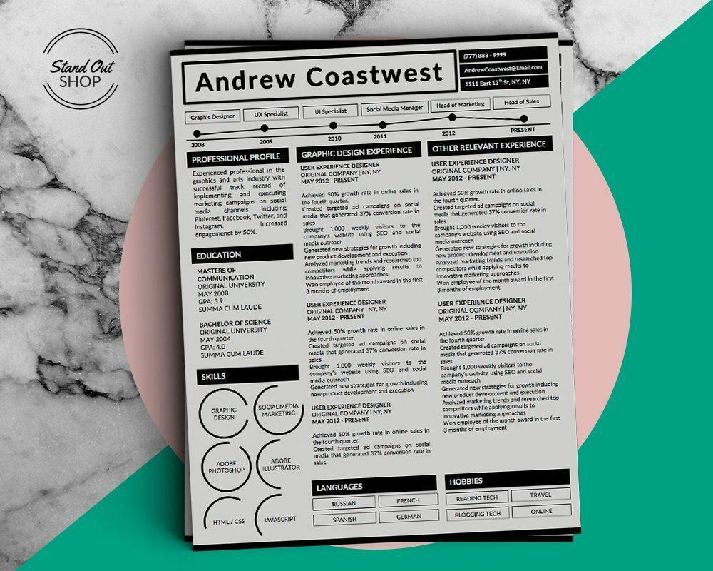 Andrew Coastwest-5 FREE MICROSOFT WORD CV RESUME TEMPLATES