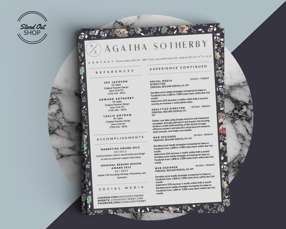 Agatha Sotherby Cover Marble