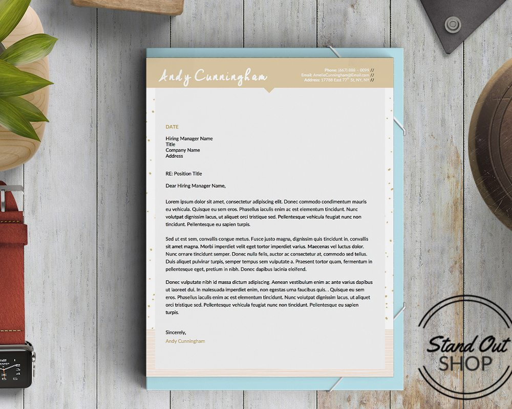 Andy cunningham cover letter template cover