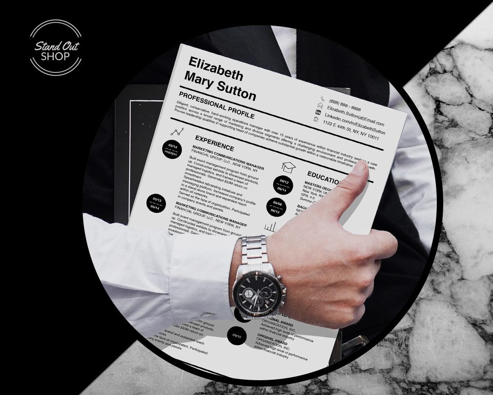carry jackson resume template