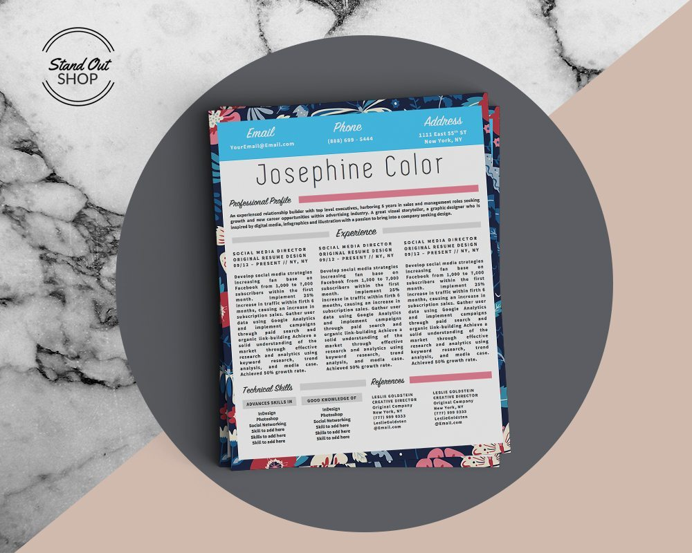 JOSEPHINE Color Marble Cover