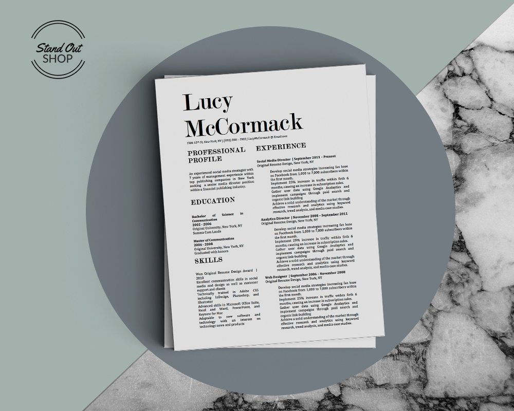 LUCY MCORMACK Marble Cover