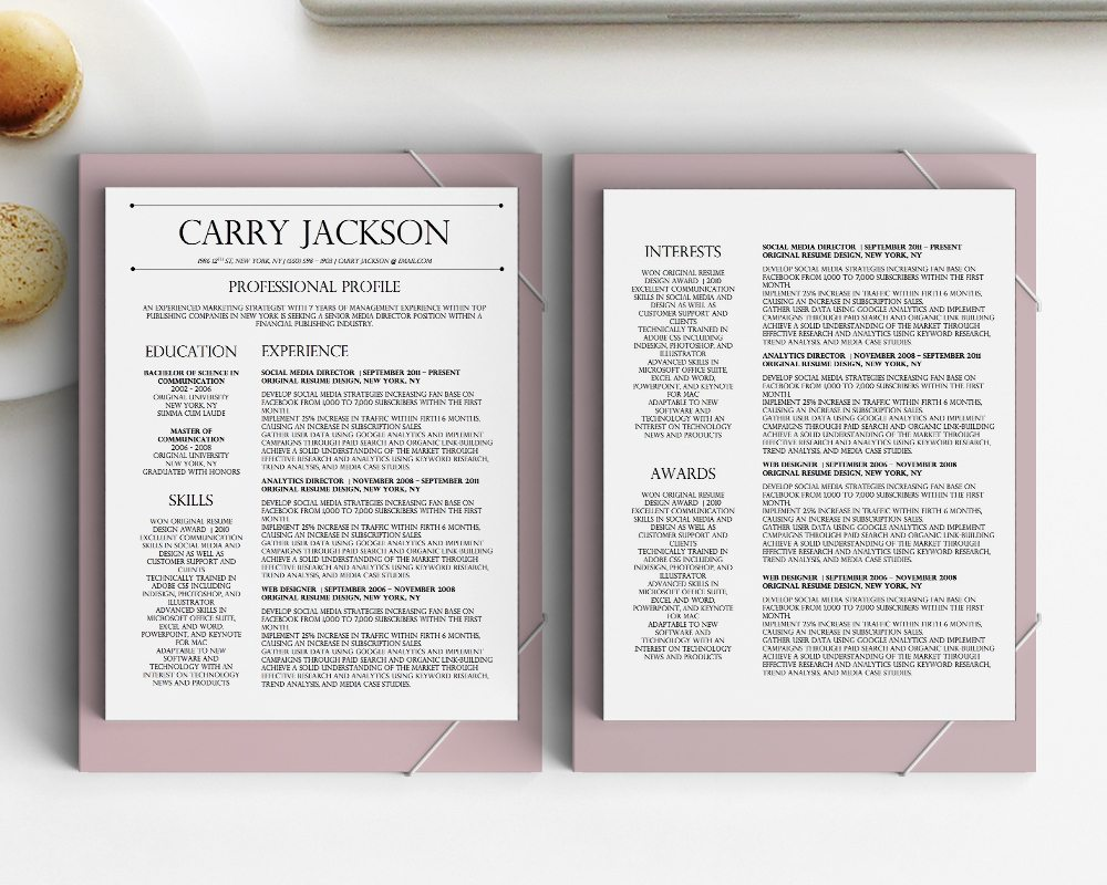 Resume Templates That Stand Out  Costumepartyrun