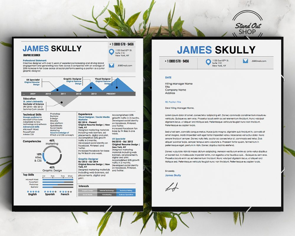 james skully resume template