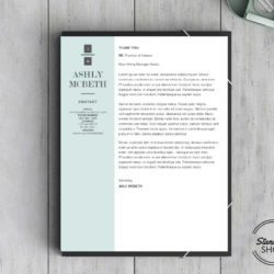 Ashly McBeth Downloadable Resume + Cover Template and Cover Letter Template for Microsoft Word and Apple Pages. This cover letter template is perfect for anyone in the fashion field. The template's design is a modern, unique, colorful, and professional. WE SWEAT THE DETAILS, SO YOU DON'T HAVE TO Stand Out Shop resume templates for Microsoft Word and Apple Pages will help you design a modern and professional resume in minutes! Simply download, open in Microsoft Word or Apple Pages, and input your resume's information. Increase your chances of landing your dream job with a job winning, modern, simple, and scannable resume template for Microsoft Word and Apple Pages. Creating a resume shouldn't suck Simply download a resume template from Stand Out Shop, enter your information in Microsoft Word or Apple Pages and get a beautifully formatted resume in seconds. Create a unique and vivid resume in minutes. Make an impressive resume. Customize your own layout in Microsoft Word or Apple Pages and introduce yourself in an impressive way. You can download your resume at any time. Stand out from other job seekers with a beautiful professional design.