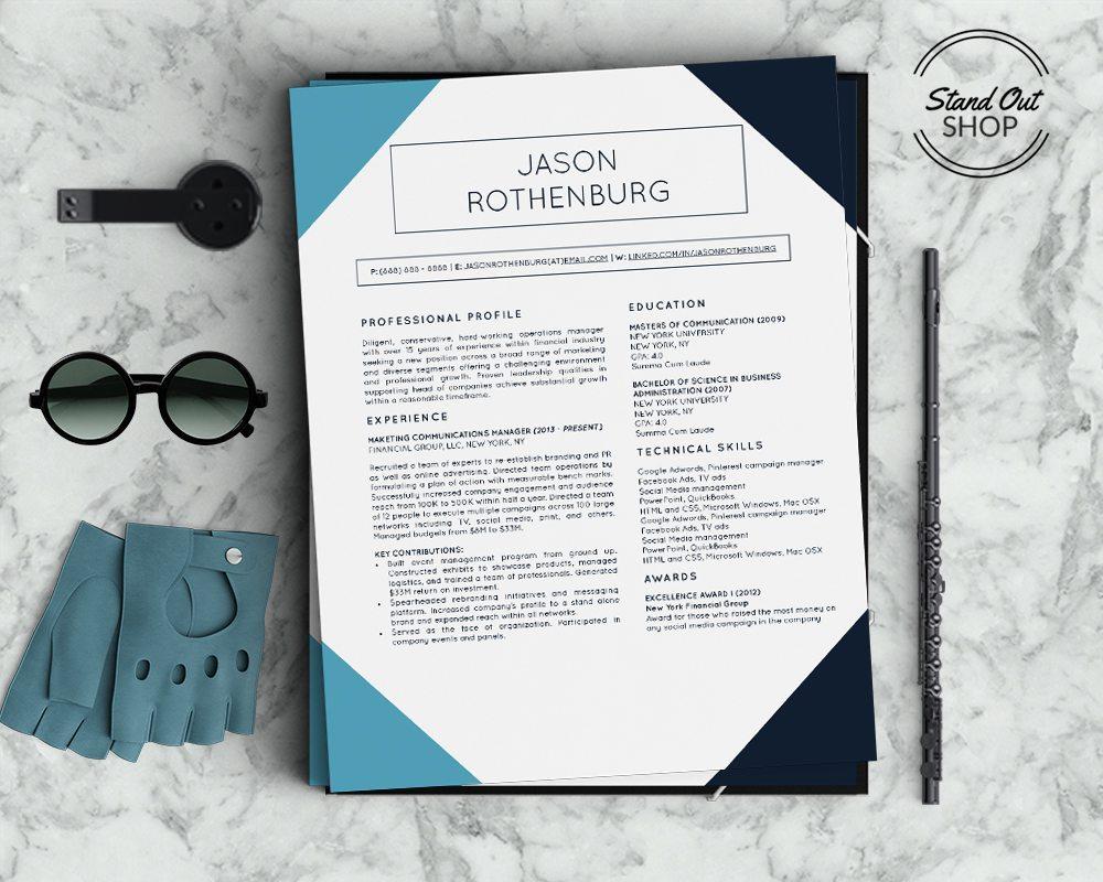 jason rothenburg resume template