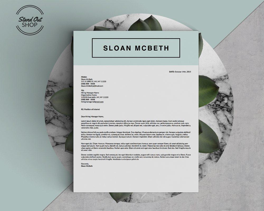 sloan mcbeth resume 5 pack