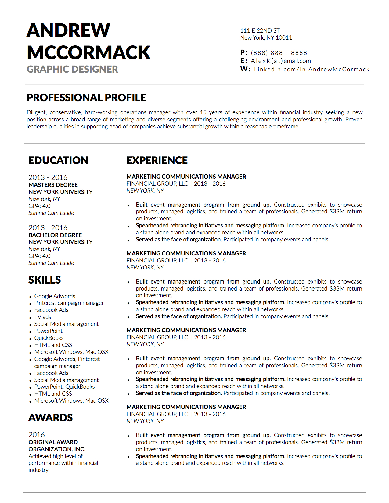 Andrew McCormack Downloadable Resume + Cover Template and Cover Letter Template for Microsoft Word and Apple Pages. This cover letter template is perfect for anyone in the fashion field. The template's design is a modern, unique, colorful, and professional. WE SWEAT THE DETAILS, SO YOU DON'T HAVE TO Stand Out Shop resume templates for Microsoft Word and Apple Pages will help you design a modern and professional resume in minutes! Simply download, open in Microsoft Word or Apple Pages, and input your resume's information. Increase your chances of landing your dream job with a job winning, modern, simple, and scannable resume template for Microsoft Word and Apple Pages. Creating a resume shouldn't suck Simply download a resume template from Stand Out Shop, enter your information in Microsoft Word or Apple Pages and get a beautifully formatted resume in seconds. Create a unique and vivid resume in minutes. Make an impressive resume. Customize your own layout in Microsoft Word or Apple Pages and introduce yourself in an impressive way. You can download your resume at any time. Stand out from other job seekers with a beautiful professional design.