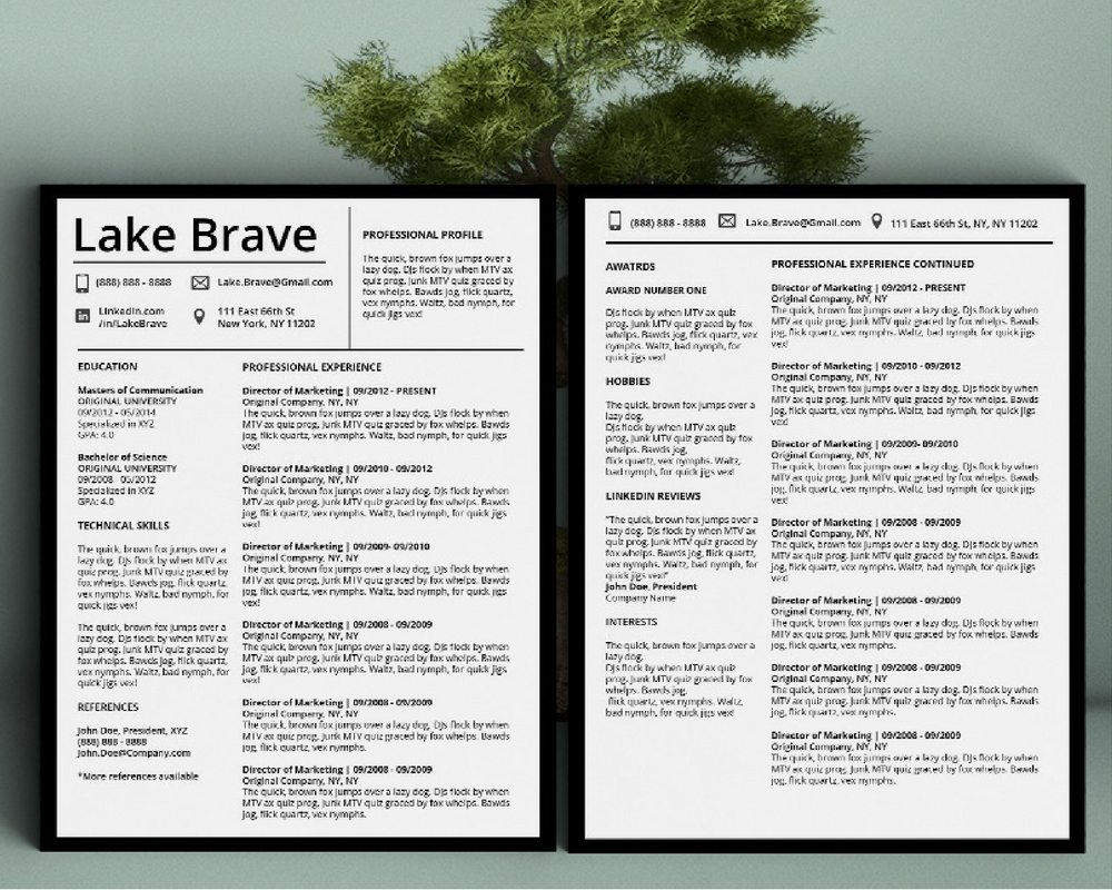 Lake Brave - Downloadable Resume + Cover Template and Cover Letter Template for Microsoft Word and Apple Pages. This cover letter template is perfect for anyone in the fashion field. The template's design is a modern, unique, colorful, and professional. WE SWEAT THE DETAILS, SO YOU DON'T HAVE TO Stand Out Shop resume templates for Microsoft Word and Apple Pages will help you design a modern and professional resume in minutes! Simply download, open in Microsoft Word or Apple Pages, and input your resume's information. Increase your chances of landing your dream job with a job winning, modern, simple, and scannable resume template for Microsoft Word and Apple Pages. Creating a resume shouldn't suck Simply download a resume template from Stand Out Shop, enter your information in Microsoft Word or Apple Pages and get a beautifully formatted resume in seconds. Create a unique and vivid resume in minutes. Make an impressive resume. Customize your own layout in Microsoft Word or Apple Pages and introduce yourself in an impressive way. You can download your resume at any time. Stand out from other job seekers with a beautiful professional design.