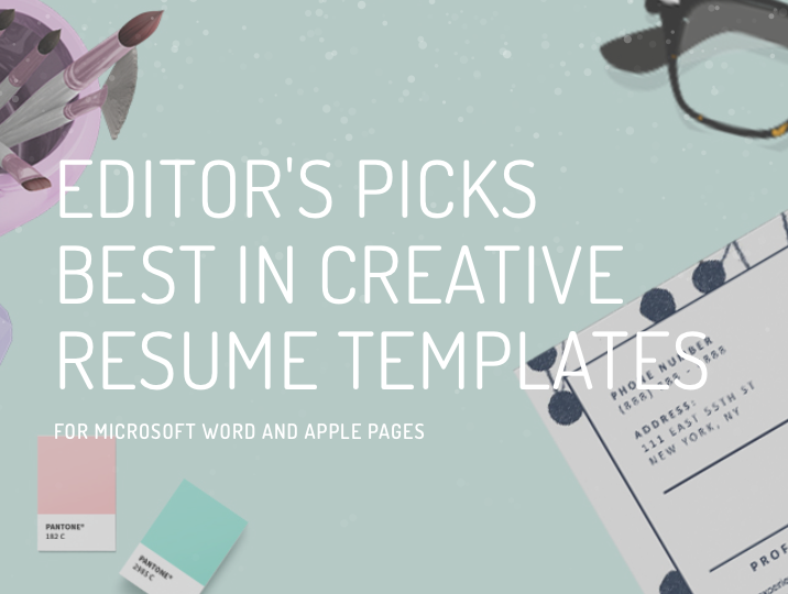 Editor's Choice: Best Creative Resume Templates
