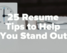 "Here are some great tips from Fairy God Boss to help you stand out on your resume. For an additional 25 tips to make your resume pops, follow @fairygodboss and visit their website for an article titled ""50 Resume Tips to Make Yours Pop"". Make sure to check out our resume templates for Microsoft Word and Apple Pages to help you save time on your resume and help you stand out."