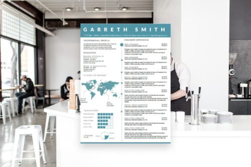 5 BEST INFOGRAPHIC RESUME TEMPLATES OF 2018-6
